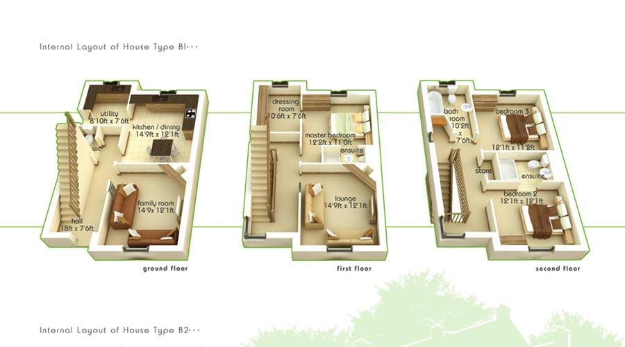 B1 Floorplans