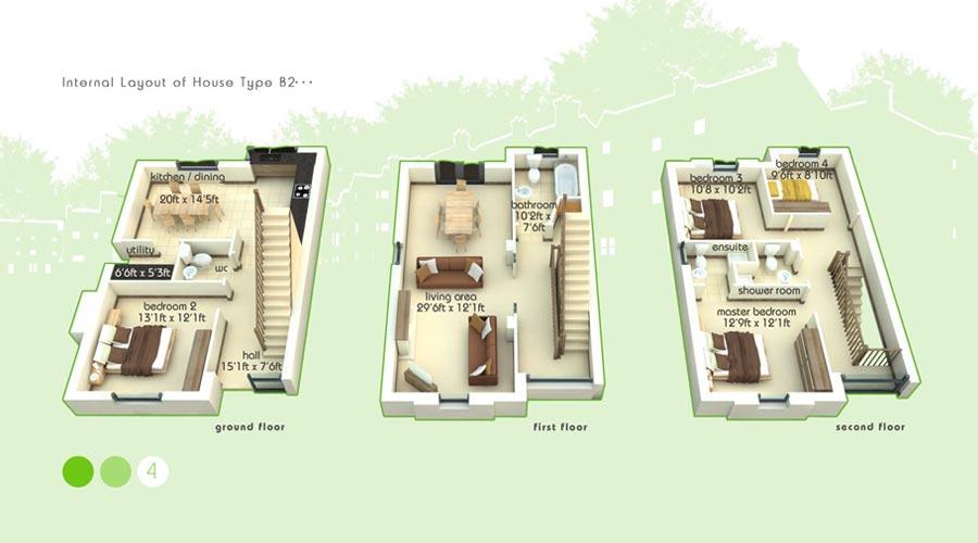 B2 Floorplans