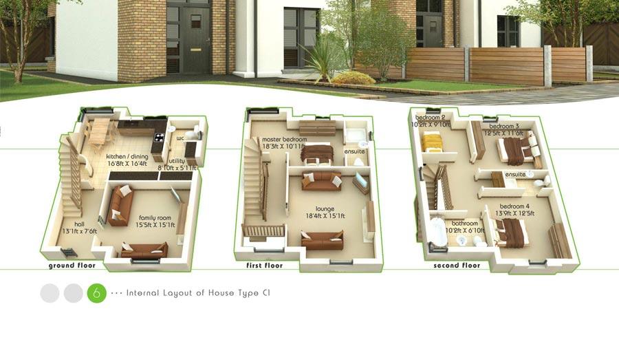 C Floorplans